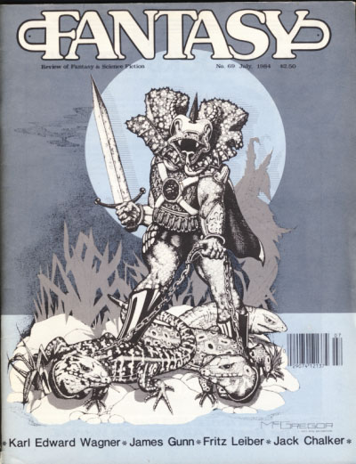 Fantasy Review #69 July 1984. Robert A. Collins, ed.