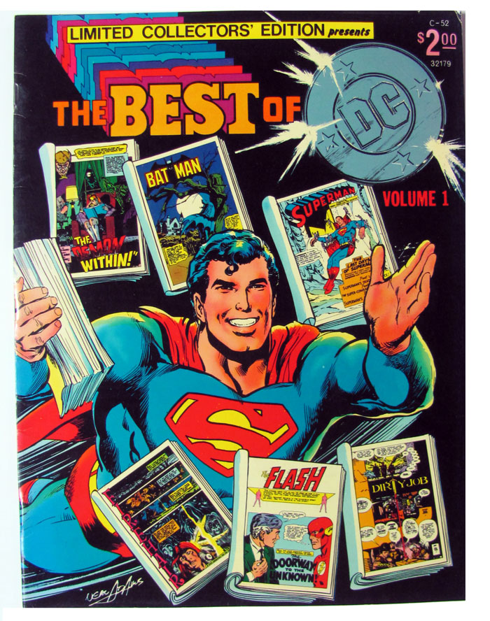 Limited Collectors' Edition C-52. (The Best of DC Volume 1.). Neal Adams, Carmine Infantino, Joe Kubert.