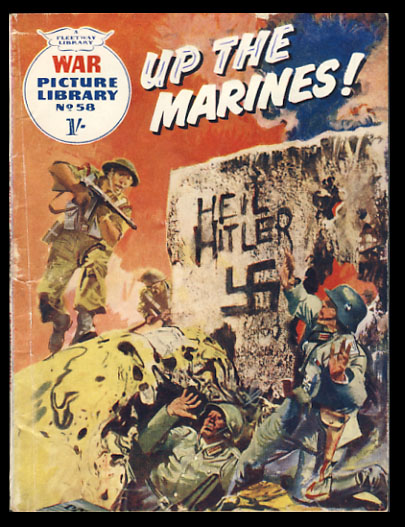 War Picture Library No. 58 - Up the Marines! Donne Avenell, Hugo Pratt.