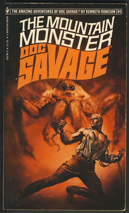 The Mountain Monster - A Doc Savage Adventure. Kenneth Robeson, Harold A. Davis.