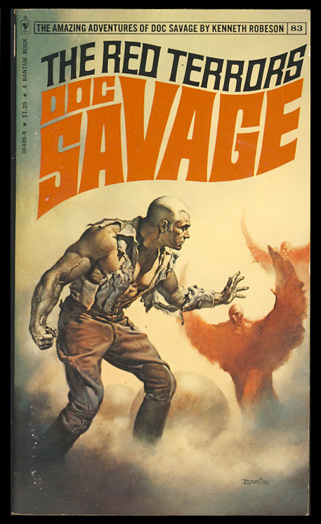 The Red Terrors - A Doc Savage Adventure. Kenneth Robeson.