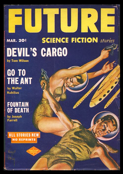 Future Science Fiction March 1952. Robert A. W. Lowndes, ed.