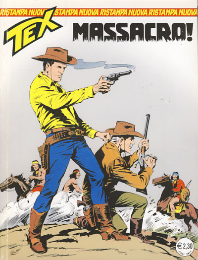 Tex #109 - Massacro! Gianluigi Bonelli, Aurelio Galleppini.