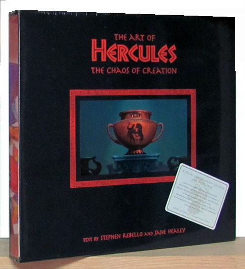 The Art of Hercules: The Chaos of Creation. (Special Limited Edition). Stephen Rebello, Jane Healey.