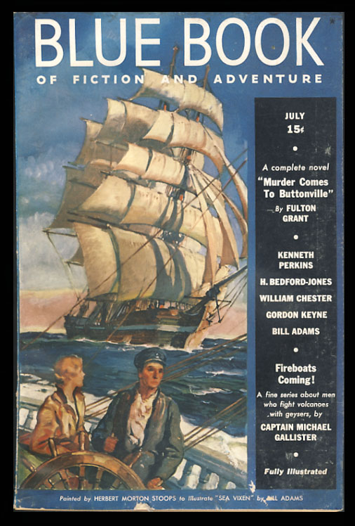 The Blue Book Magazines July 1938. Henry Bedford-Jones.