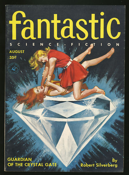 Fantastic August 1956. Howard Browne, ed.