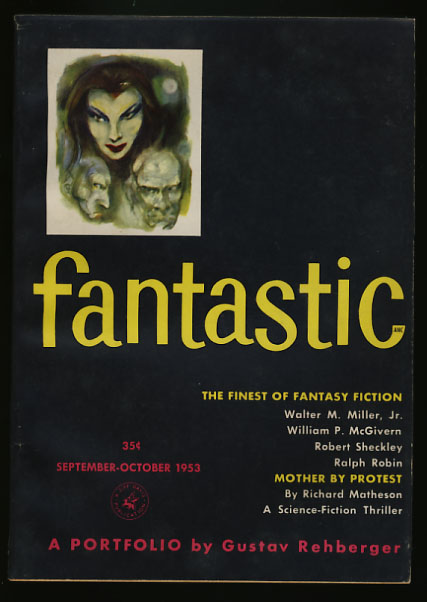 Fantastic September-October 1953. Howard Browne, ed.