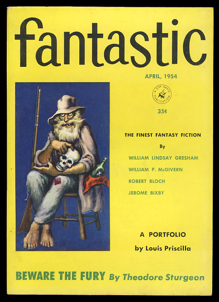 Fantastic April 1954. Howard Browne, ed.