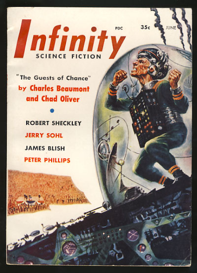 Infinity Science Fiction June 1956. Larry T. Shaw, ed.
