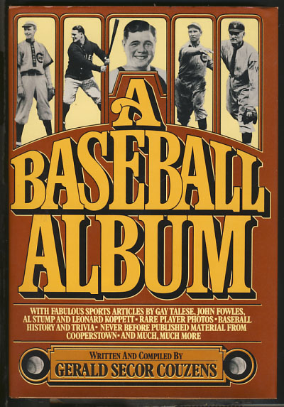A Baseball Album. Gerald Secor Couzens.