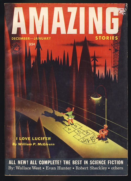 The Builder in Amazing Stories December-January 1954. Philip K. Dick.