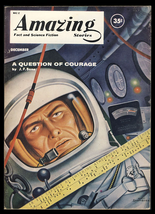 Amazing Stories December 1960. Cele Goldsmith, ed.