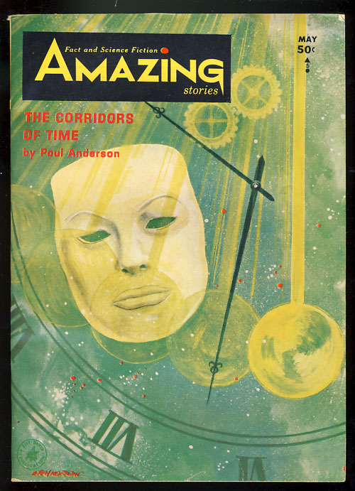 The Corridors of Time in Amazing Stories May 1965 by Poul Anderson on  Parigi Books
