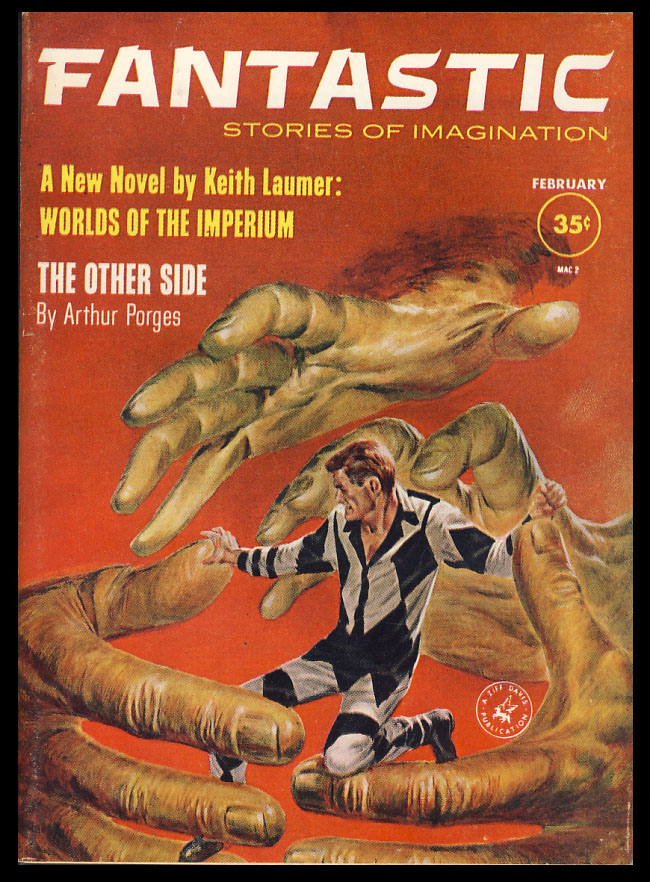 Worlds of the Imperium Part 1 in Fantastic February 1961. Keith Laumer.