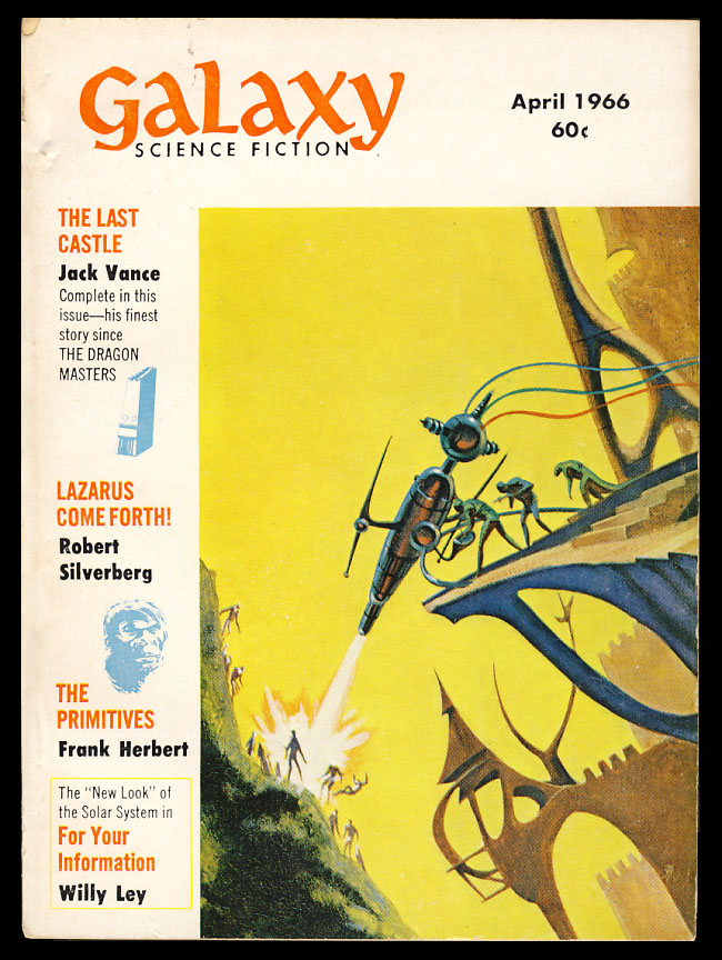 The Last Castle in Galaxy Magazine April 1966. Jack Vance.