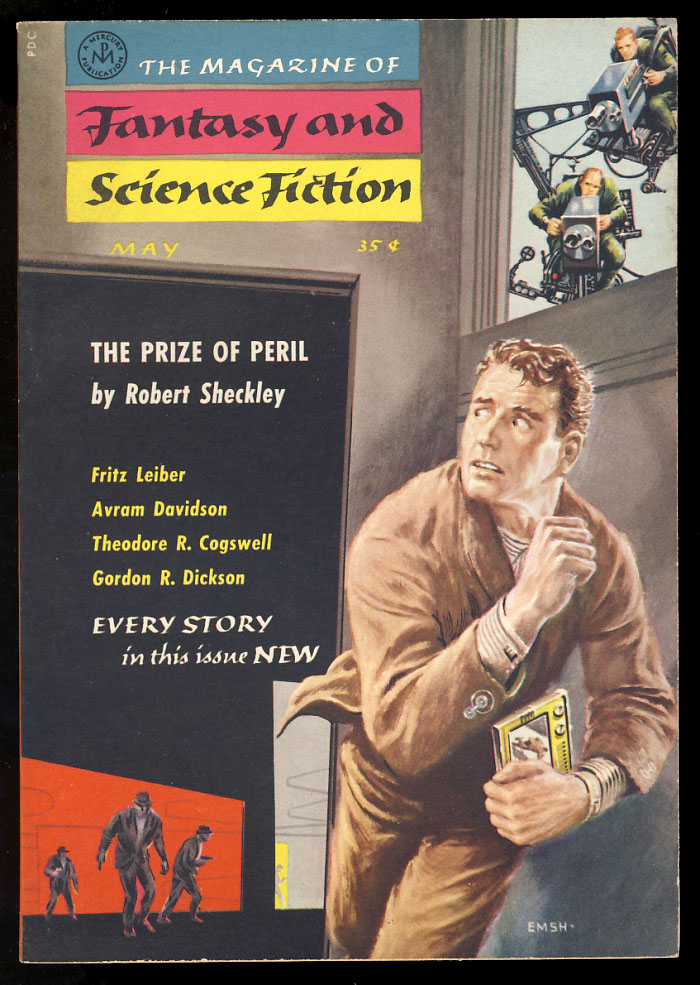 The Prize of Peril in The Magazine of Fantasy and Science Fiction May 1958. Robert Sheckley.