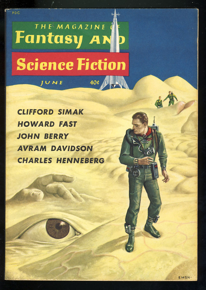 The Golden Bugs in The Magazine of Fantasy and Science Fiction June 1960. Clifford D. Simak.