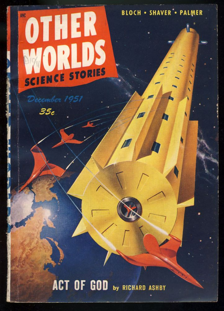 Yelisen in Other Worlds Science Stories December 1951. Richard S. Shaver.