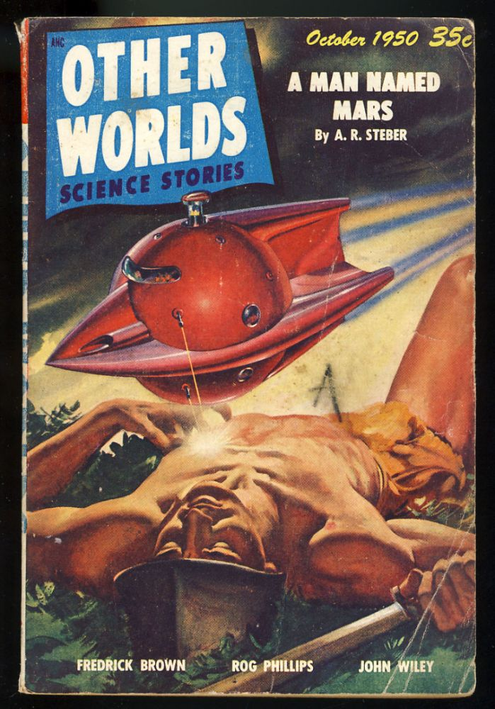 The Frownzly Florgels in Other Worlds Science Stories October 1950. Fredric Brown.