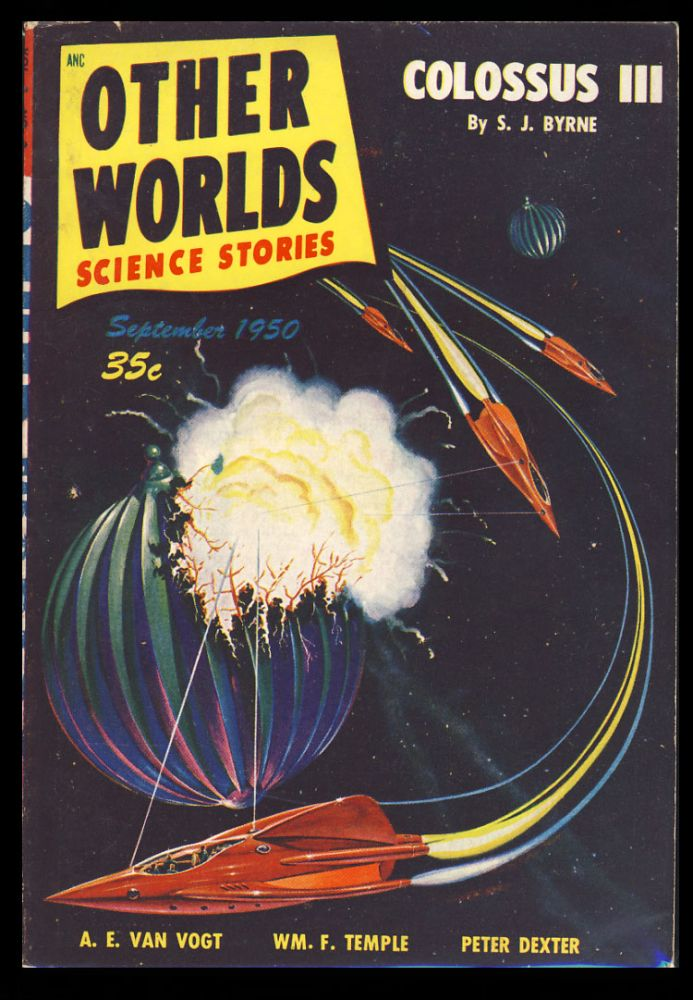 Other Worlds Science Stories September 1950. Raymond Palmer, ed.