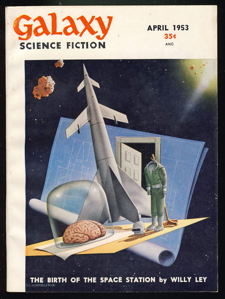 Seventh Victim in Galaxy Science Fiction April 1953. Robert Sheckley.