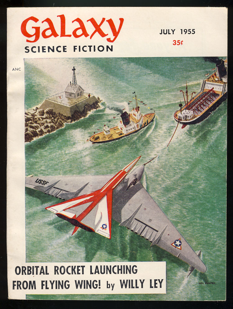 The Mapmakers in Galaxy Science Fiction May 1955. Frederik Pohl.