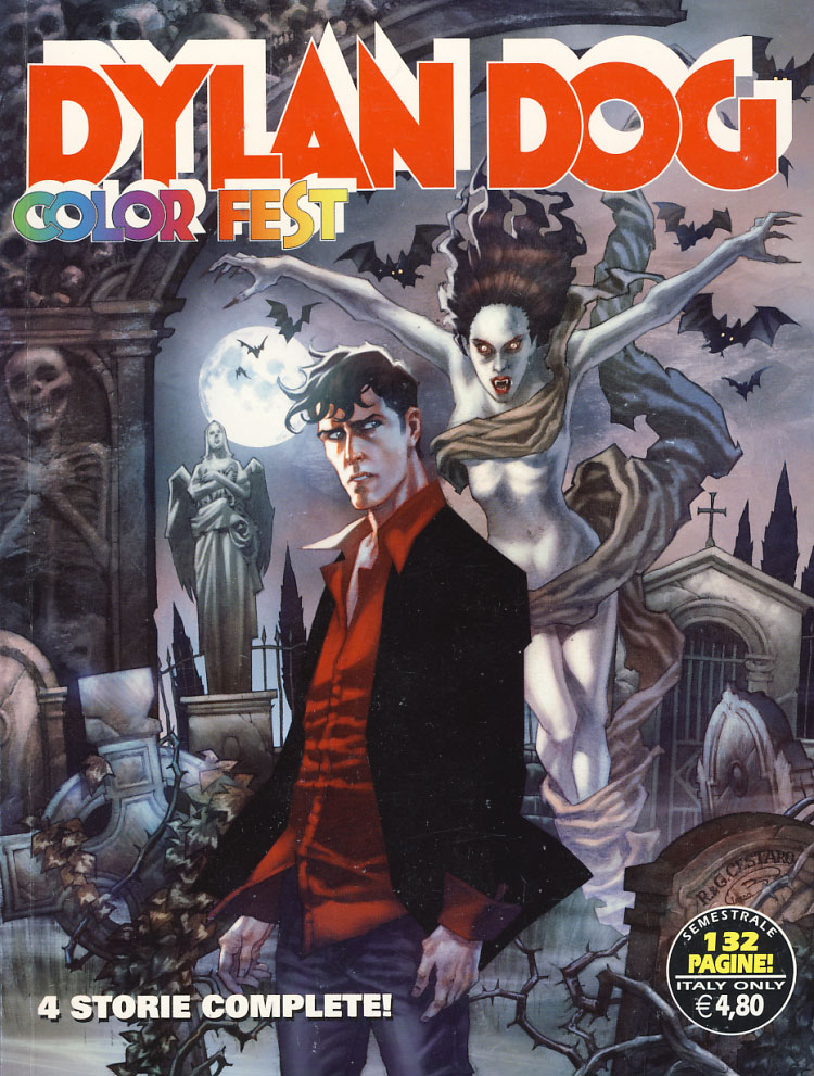 Dylan Dog Color Fest #7. Fabrizio Accattino, Gigi Simeoni.