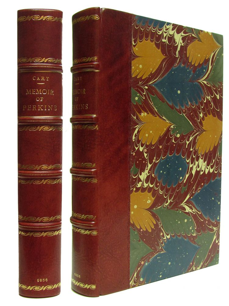 Memoir of Thomas Handasyd Perkins; Containing Extracts from His Diaries and Letters. With an Appendix. Thomas G. Cary.