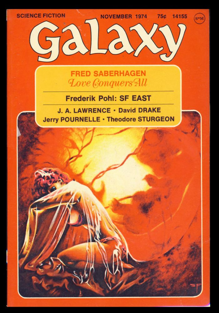Galaxy November 1974. James Baen, ed.