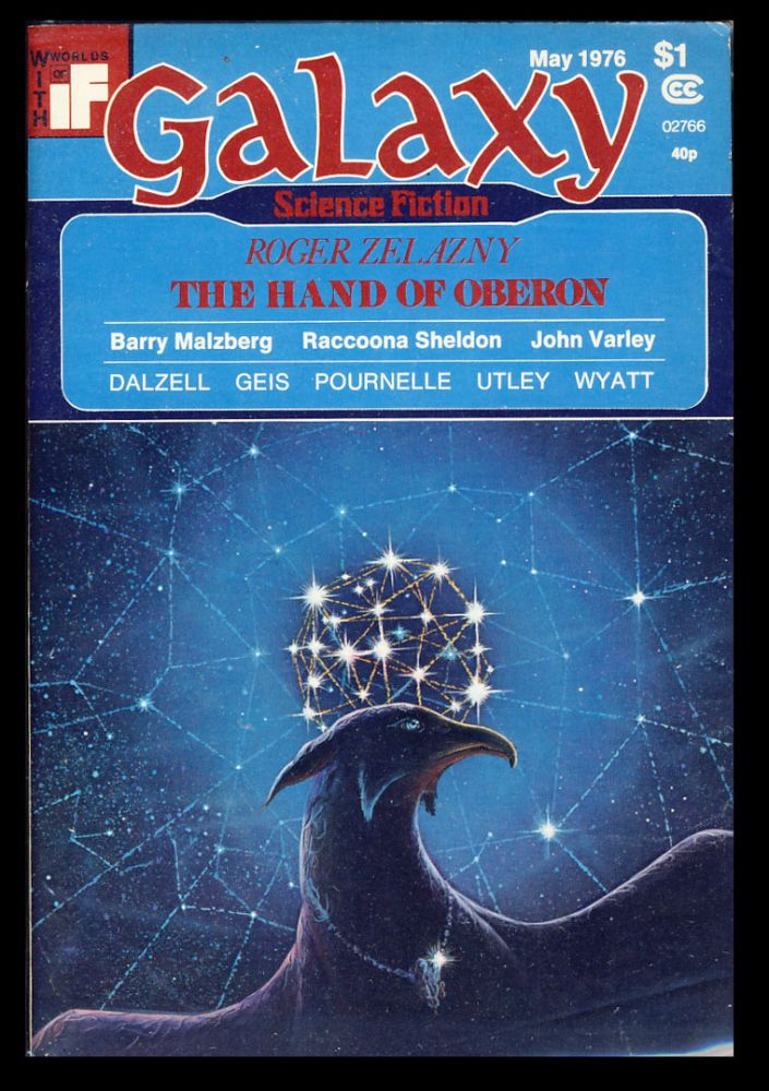 Galaxy May 1976. James Baen, ed.