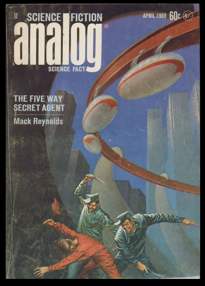 Analog Science Fiction Science Fact April 1969. John W. Campbell, ed, Jr.