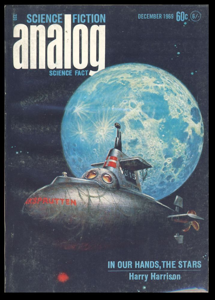 Analog Science Fiction Science Fact December 1969. John W. Campbell, ed, Jr.