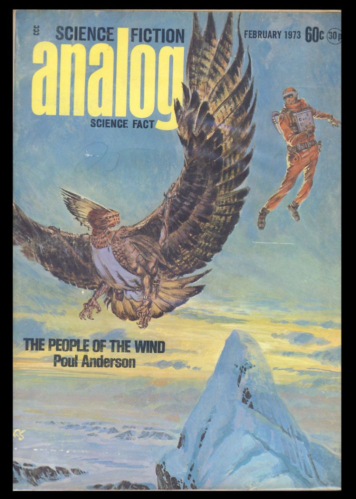 The People of the Wind (Part 1 of 3) in Analog Science Fiction Science Fact February 1973. Poul Anderson.