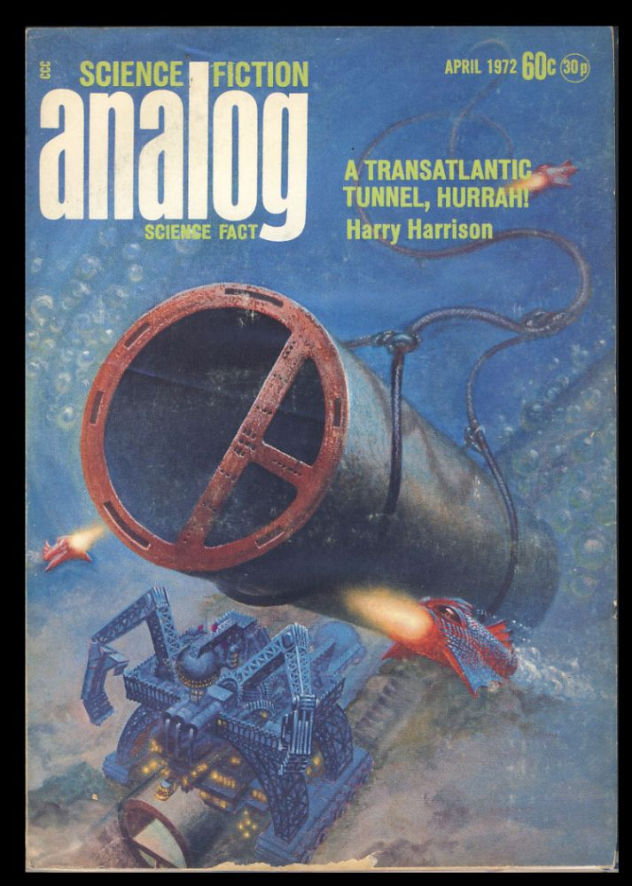 Wings of Victory in Analog Science Fiction Science Fact April 1972. Poul Anderson.
