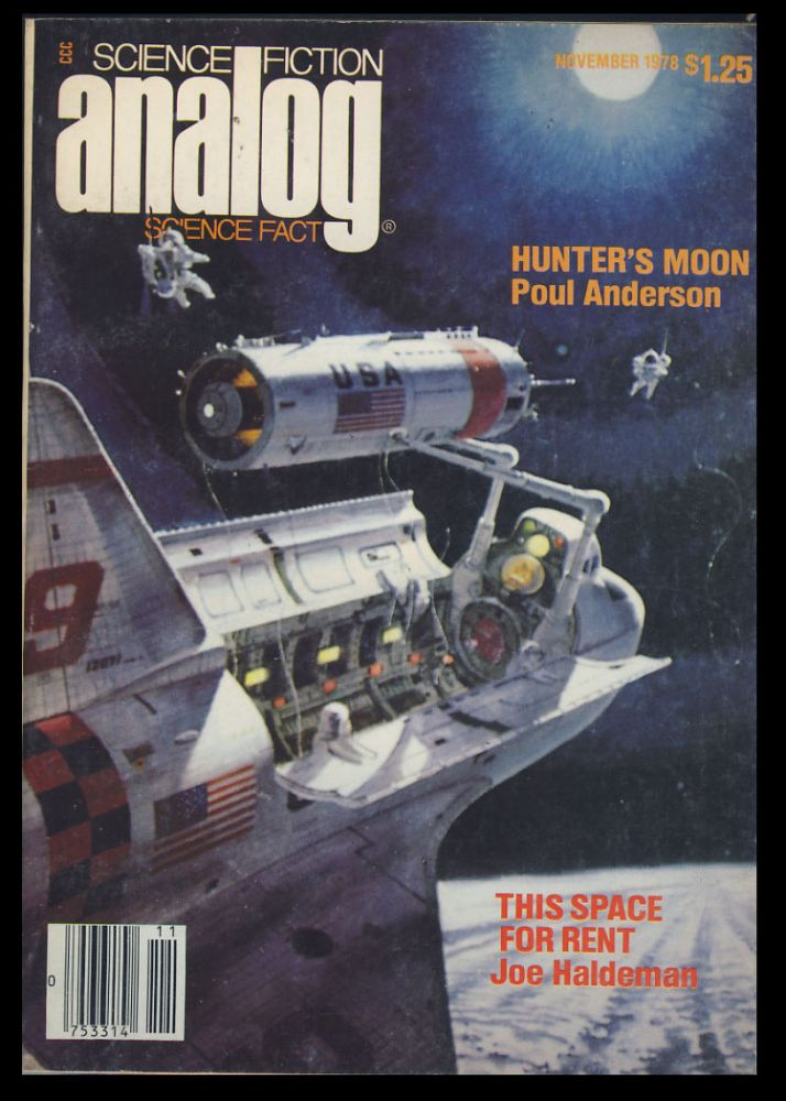 Hunter's Moon in Analog Science Fiction Science Fact November 1978. Poul Anderson.