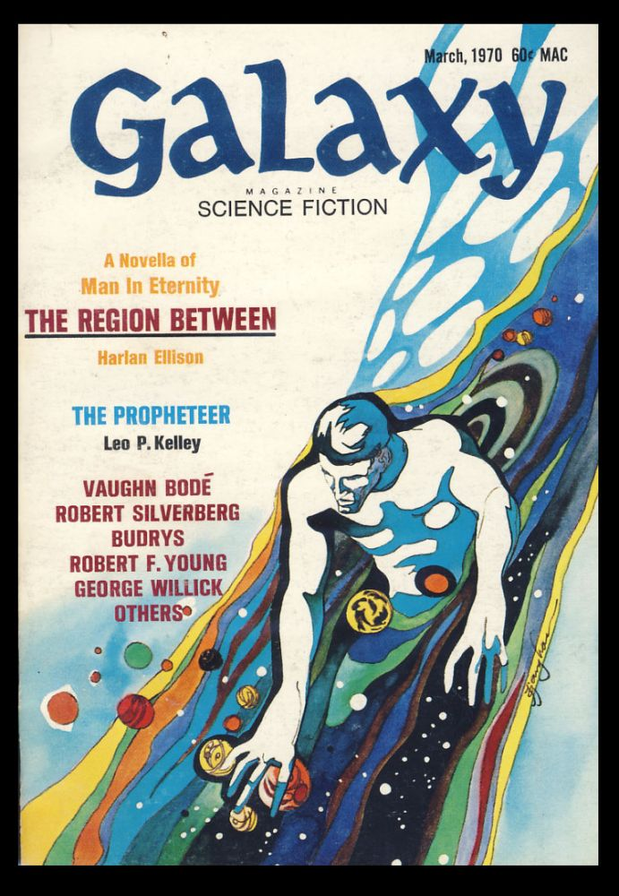 Downward to the Earth (Part 4 of 4) in Galaxy Magazine March 1970. Robert Silverberg.