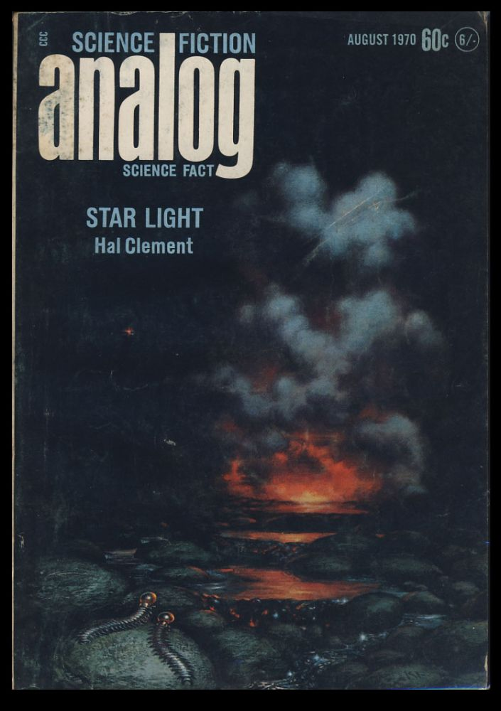 Analog Science Fiction Science Fact August 1970. John W. Campbell, ed, Jr.