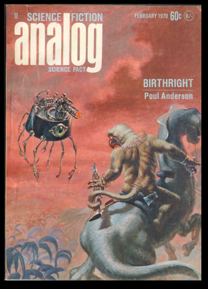 Birthright in Analog Science Fiction Science Fact February 1970. Poul Anderson.