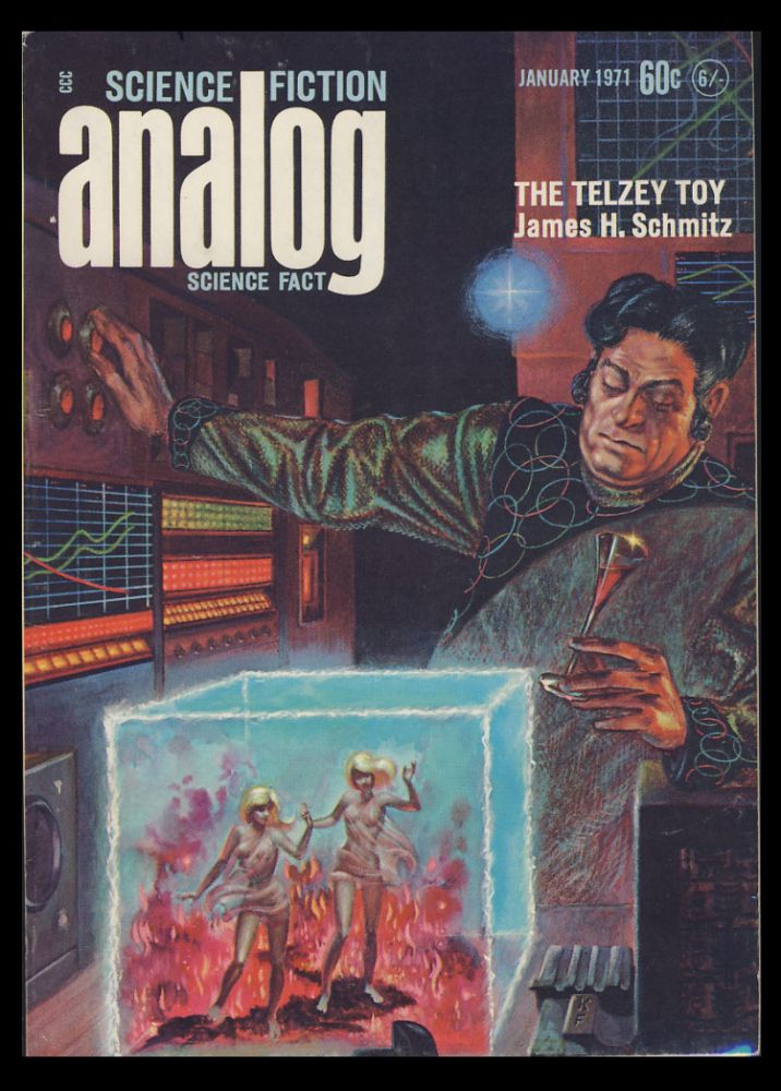 Analog Science Fiction Science Fact January 1971. John W. Campbell, ed, Jr.