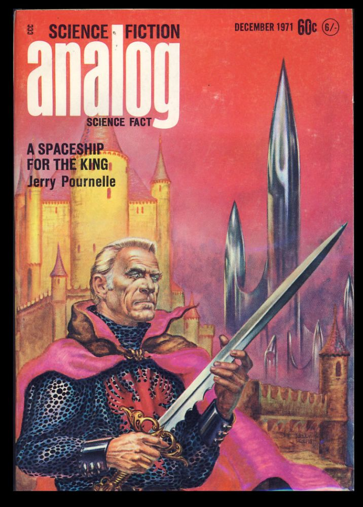 Analog Science Fiction Science Fact December 1971. John W. Campbell, ed, Jr.