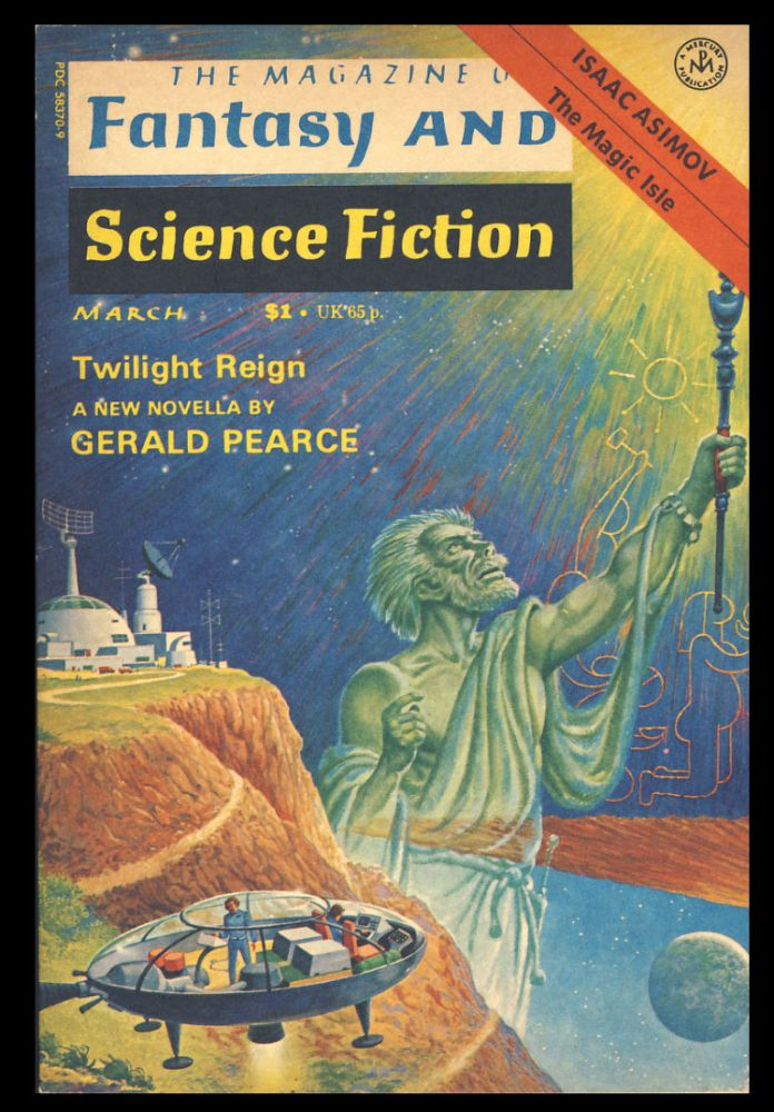 The Magazine of Fantasy and Science Fiction March 1977. Edward L. Ferman, ed.