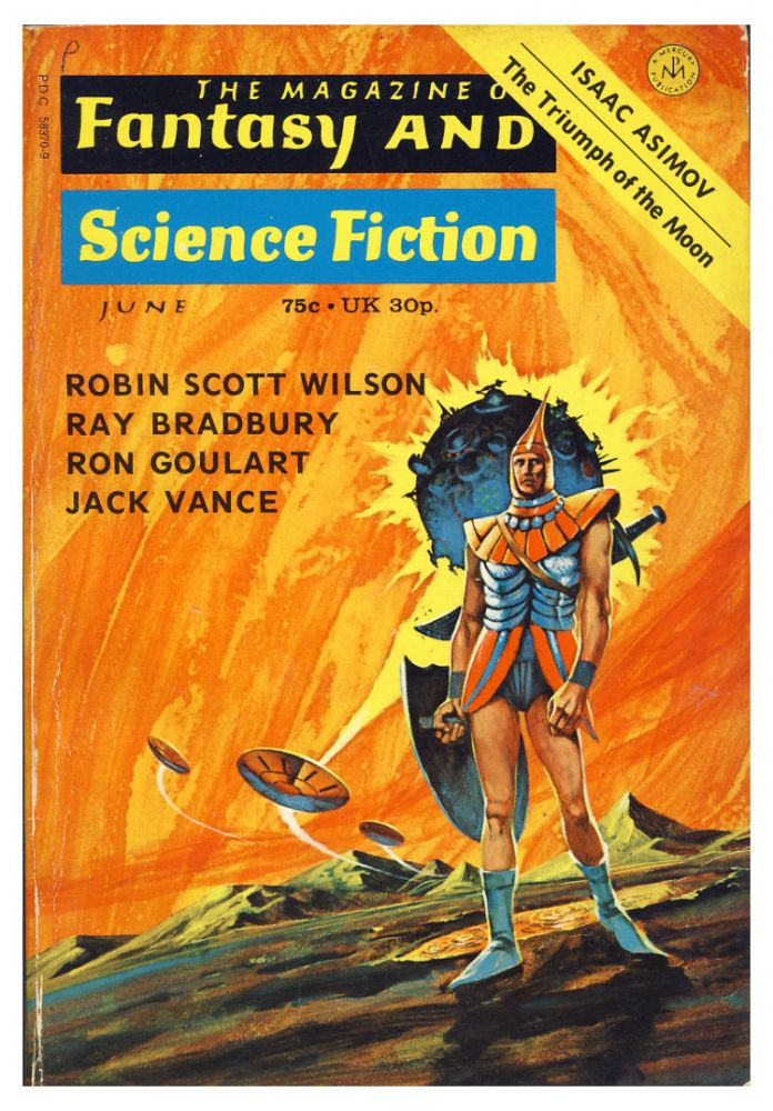 The Asutra (Part 2 of 2) in The Magazine of Fantasy and Science Fiction June 1973. Jack Vance.