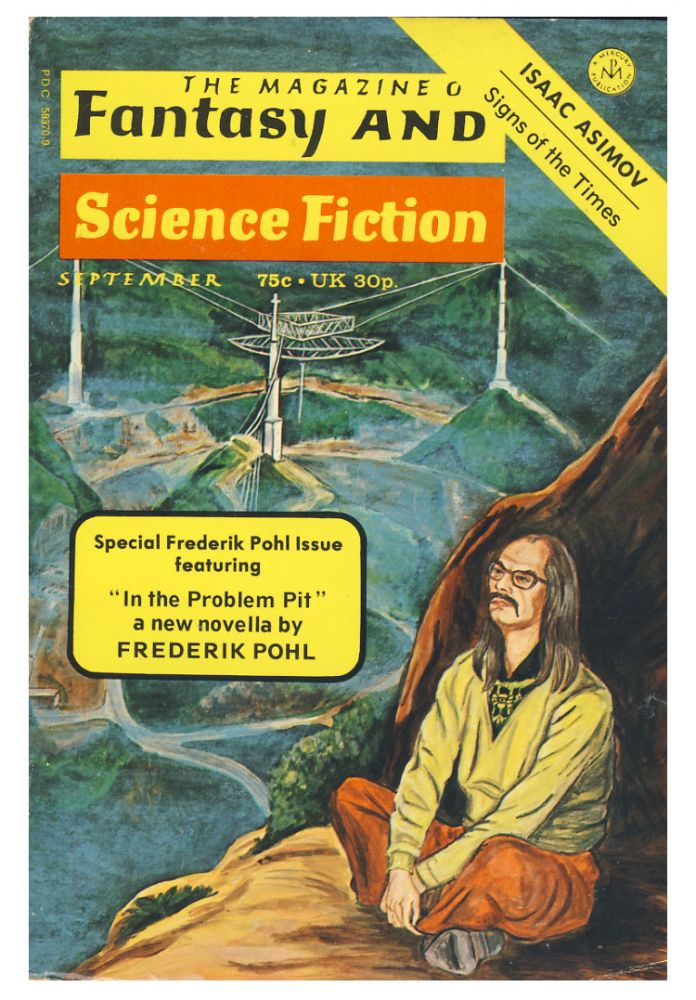In the Problem Pit in The Magazine of Fantasy and Science Fiction September 1973. Frederik Pohl.