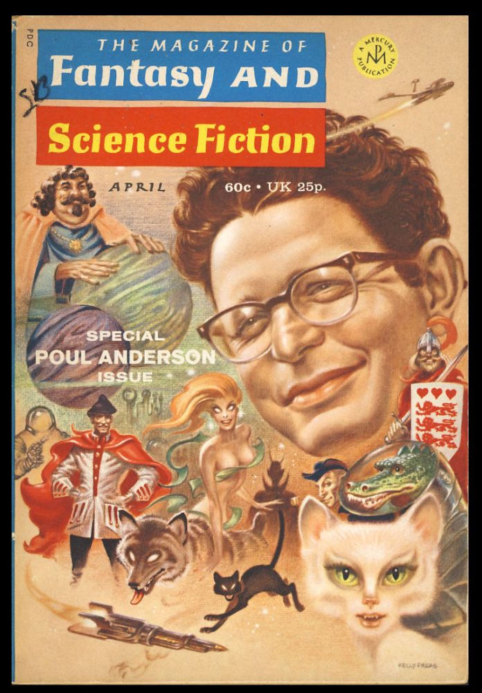 The Queen of Air and Darkness in The Magazine of Fantasy and Science Fiction April 1971. Poul Anderson.