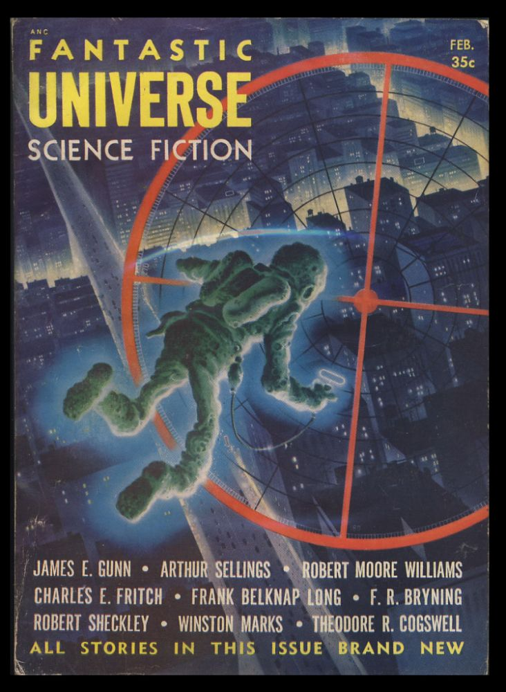 The Fortunate Person in Fantastic Universe February 1955. Robert Sheckley.
