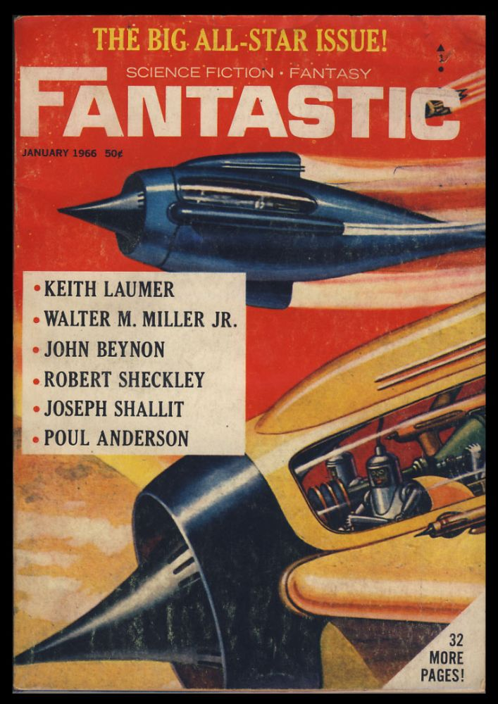 Three Wishes in Fantastic January 1966. Poul Anderson.