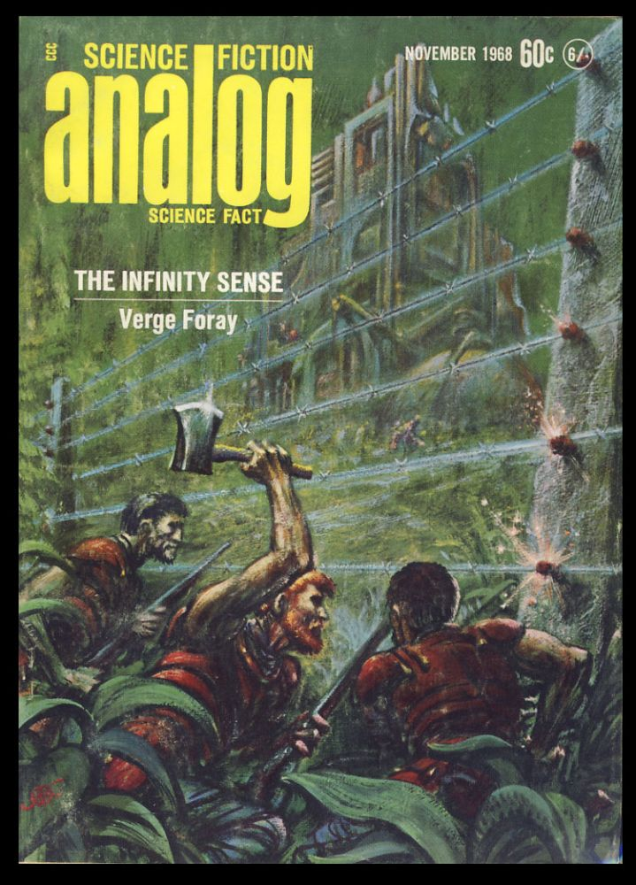 The Alien Enemy in Analog Science Fiction Science Fact November 1968. Poul Anderson.