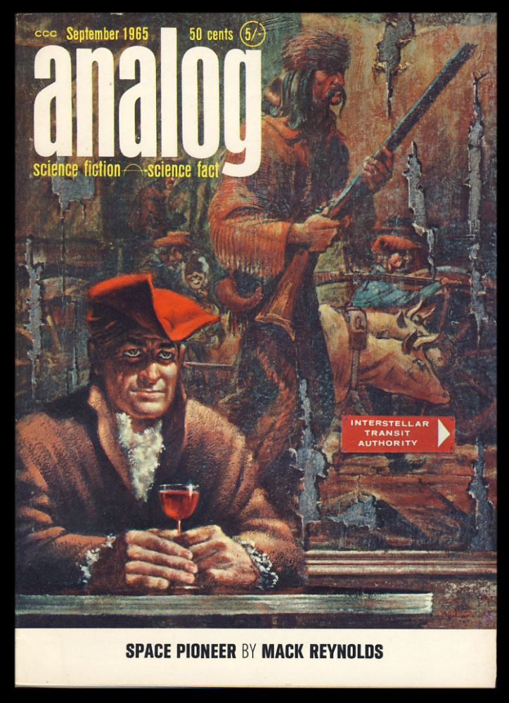 The Life of Your Time in Analog Science Fiction Science Fact September 1965. Poul Anderson.