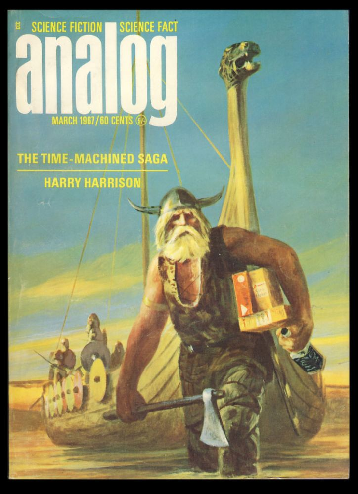 In the Shadow in Analog Science Fiction Science Fact March 1967. Poul Anderson.