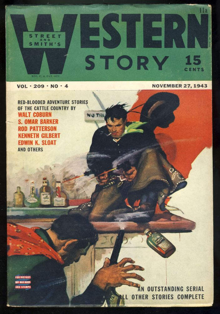 Street & Smith's Western Story November 27, 1943. Kenneth Gilbert.